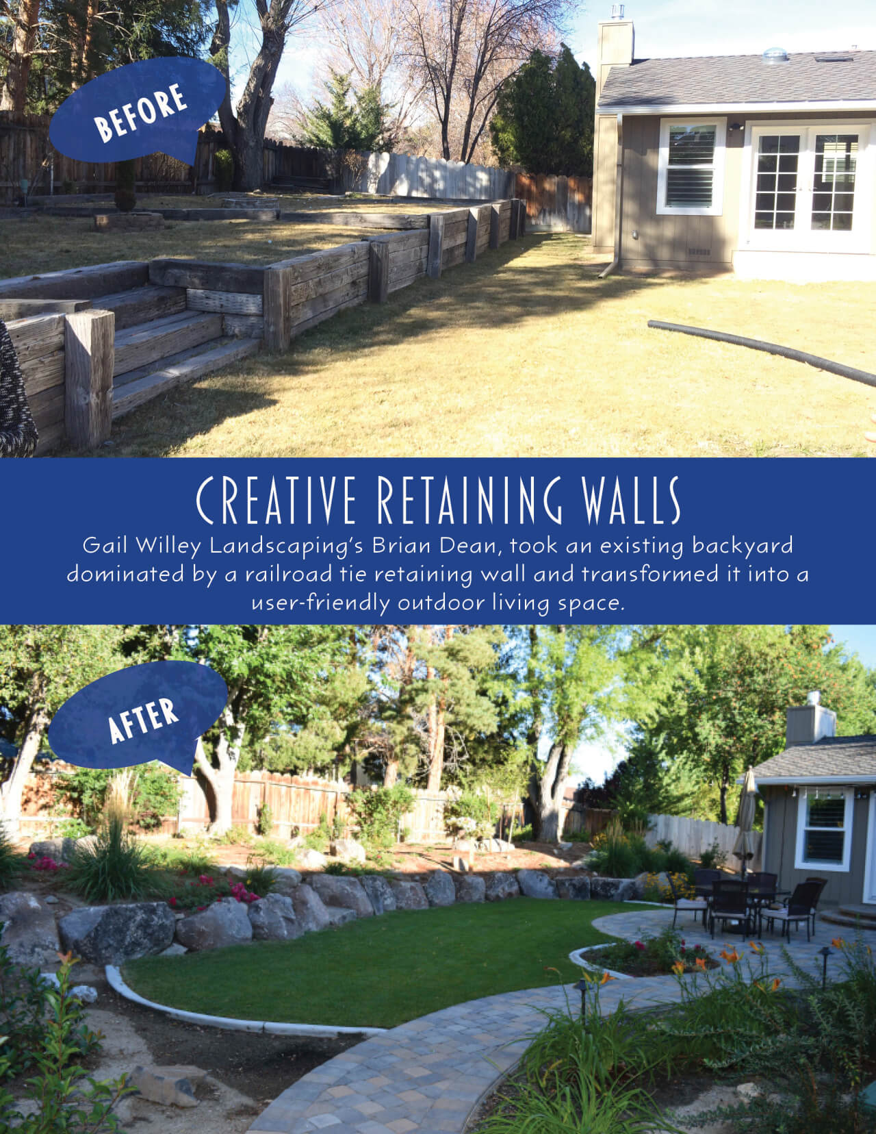 In need of a decorative retaining wall?